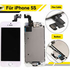 LCD Touch Screen Replacement with Home Button+Camera For iPhone 5s A1533 A1453