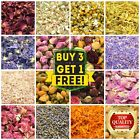 Dried Petals, Dried Flowers, 41+Types, Jasmine, Lavender Rose Chamomile FREE P&P