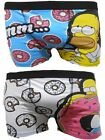 The Simpsons Homer Homme Boxer Trunks Deux Pack