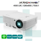 HD LED Android WiFi Home Theater Projector Online Movie Video App HDMI USB VGA