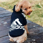 Warm & Cute Small Dog Adidas Sport Jacket, pet outfit for Spring Clothing Free S
