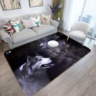 3D Full Moon Wolf 3162 Non Slip Rug Mat Room Mat Quality Elegant Photo Carpet AU