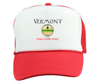 Trucker Hat Cap Foam Mesh USA State Seal Vermont Home State