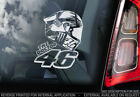 Valentino Rossi #46 Moto GP Car Sticker MotoGP Helmet Vale 'The Doctor' V02