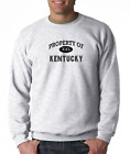 Gildan Long Sleeve T-shirt USA State Property Of Kentucky