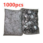 """1000pcs 1-1/4"""" 32mm  Blank Pin Badge Button Supplies for Badge Maker Machine"""