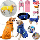 Clothing Shoes - NEW ADJUSTABLE DOG RAIN COAT JACKET PET WATERPROOF REFLECTIVE RAINCOAT 8 SIZES