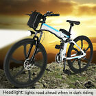 Outdoor Folding Electric Bicycle Collapsible Frame E-Bike with Lithium Battery