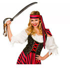 Ladies Pirate Fancy Dress Costume High Seas Caribbean Wench Outfit Lady