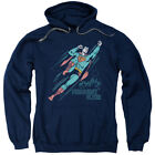 "Superman ""Frequent Flyer"" Hoodie, Crewneck, Long Sleeve"