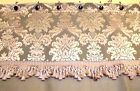 Convention Made To Order French Country Burlap And Toile Shower Curtain