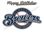 Milwaukee Brewers Personalized Edible Print Cake Toppers Frosting Sheets 5 Sizes on Ebay