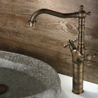 Classic Style Double Handles Vessel Sink Faucet Basin Mixer Tap for Bathroom
