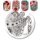 BORN PRETTY Xmas Stamping Plates Winter Christmas Manicure Nail Art Image Plate