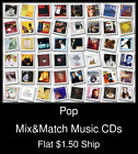Pop(2) - Mix&Match Music CDs U Pick *NO CASE DISC ONLY*
