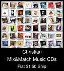 Christian(2) - Mix&Match Music CDs U Pick *NO CASE DISC ONLY*