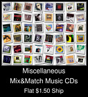 Miscellaneous(3) - Mix&Match Music CDs U Pick *NO CASE DISC ONLY*