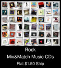 Rock(10) - Mix&Match Music CDs U Pick *NO CASE DISC ONLY*