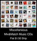 Miscellaneous(14) - Mix&Match Music CDs U Pick *NO CASE DISC ONLY*