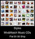 Styles(43) - Mix&Match Music CDs U Pick *NO CASE DISC ONLY*
