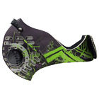 RZ Mask M1 Digi Green (sizes M, L, XL) - anti pollution cycling sports mask