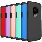 Outer Box Armor Hybrid Rubber Phone Cover For Samsung Galaxy S9/S9 Plus Case