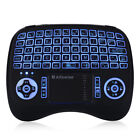 Alfawise 2.4GHz Backlit Wireless Touchpad Keyboard Air Mouse for PC Pad TV Box