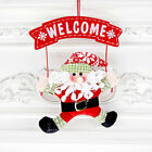 Christmas Tree Decoration Santa Claus Snowman Ornament Door Home Xmas Decor