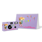 I'm The Big Sister Gift Disposable Camera & Album-Lavender-PERSONALIZE- sister