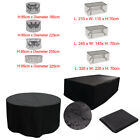 4/6/8/10 Extra Large Seater Waterproof Patio Furniture Cover Outdoor Garden Set