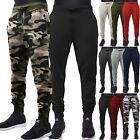 Mens Casual Jogger Pants Casual Slim Fit Sweatpants Workout Gym Basic Fleece