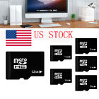 Micro SD TF Memory Card Flash 2G 4G 8G 16GB 32GB Class 4 C4 for Smartphone USA