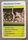 TOP TRUMPS Single Card Manchester United Football Club 1970s 1980s - Various