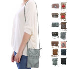 Casaba Womens Crossbody Purse Wallet Phone Travel Passport Satchel Shoulder Bag