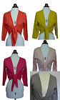 Boden tie front cotton mix cardigan in  three colours *VERY PRETTY* SUMMER!!