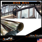 One Way Mirror Window Film Tint Privacy Guard Heat Reflective Solar Energy Saver