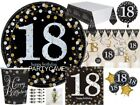 18th Gold Celebration Birthday Party  Balloons Tableware Decorations Supplies