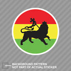 Rasta Lion of Judah Sticker Decal Vinyl tribe of jewish reggae