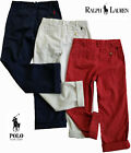 NWT Polo Ralph Lauren Boys Rustic Navy Blue Cuffed Pants(Size 14) MSRP$49.50 NEW