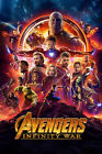 Avengers: Infinity War 1 Movie Poster Canvas Picture Art Print Premium A0 - A4