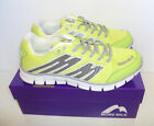 More Mile Oslo Men's Running Fitness Gym Yellow Trainers Shoes New Sizes 7 8 9