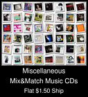 what is a optical disc drive - Miscellaneous(7) - Mix&Match Music CDs U Pick *NO CASE DISC ONLY*
