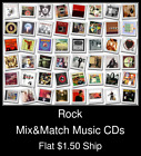 Rock(18) - Mix&Match Music CDs U Pick *NO CASE DISC ONLY*