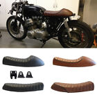 Cafe Racer Retro Refit Flat Brat&Hump Saddle Seat Cushion For Honda CB Suzuki GS $49.8 USD on eBay