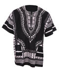 Black African Unisex Dashiki Shirt DP3578 Small to 7XL Plus Size