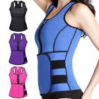 Внешний вид - Women Waist Trainer Vest Gym Workout Slimming Adjustable Sweat Belt Body Shaper