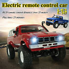 WPL 1:16 2.4G 4WD Off-road Jeep RC Car Crawler Military Truck Remote Control Toy