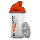Shaker Proteine Bottiglia Integratori di THE PROTEIN WORKS™  - Arancione 700ml