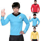 Star Trek Uniform T Shirt Captain Kirk Spock Enterprise Starfleet S M L on eBay