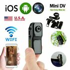 WIFI Mini Camera MD80 HD Motion Detection DV DVR Thumb Recorder Spy Sports USA